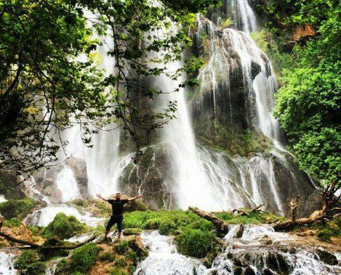 آبشار آتشگاه شهرکرد