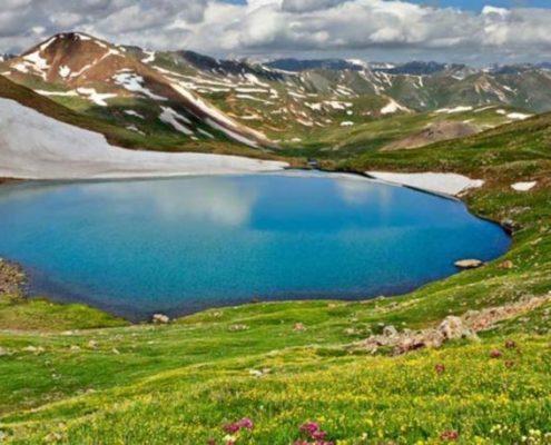 دریاچه کوه گل یاسوج