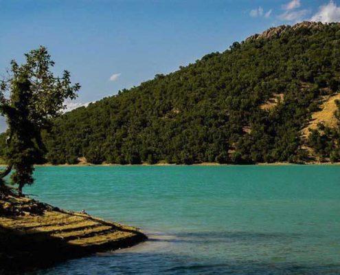 دریاچه سد شاه قاسم یاسوج