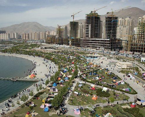 دریاچه شهدای خلیج فارس یا چیتگر تهران
